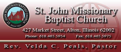 Sunday Morning Service @ St. John MB Church | Alton | Illinois | United States